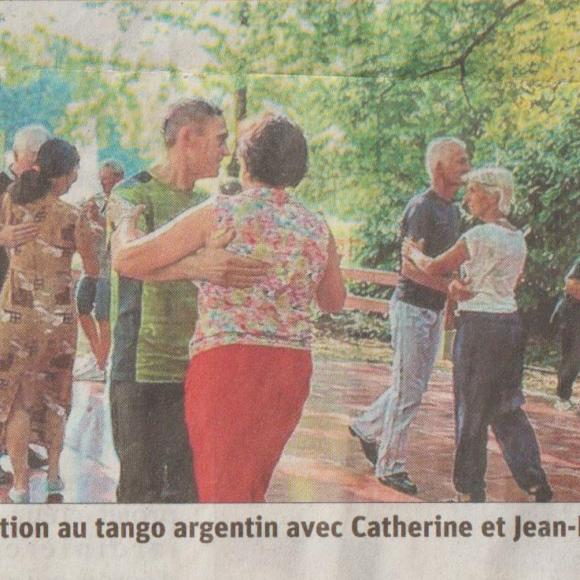 Initialisation Tango Argentin Salle De danse du Rondeau le jeudi 5 Septembre à 18h30